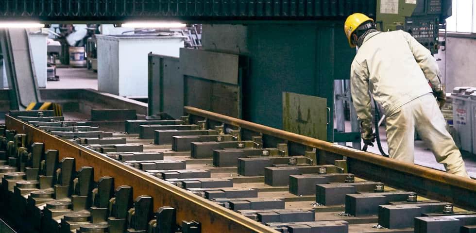 線路の工場