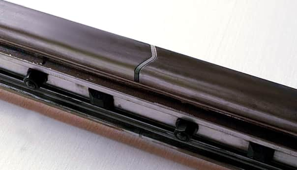 V-Shaped Glued-Insulated Joint Rail